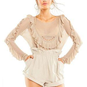 Wildfox Camilla sweater Medium NWT